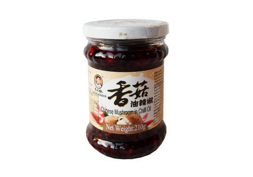 Lao Gan Ma Chinese Mushroom in Chilli Oil, 210g