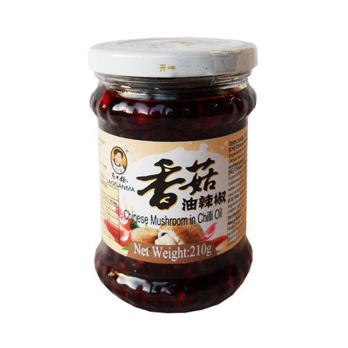 Lao Gan Ma Chinese Mushroom in Chilli Oil, 210g