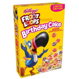 Kellogg's Froot Loops Birthday Cake, 286g