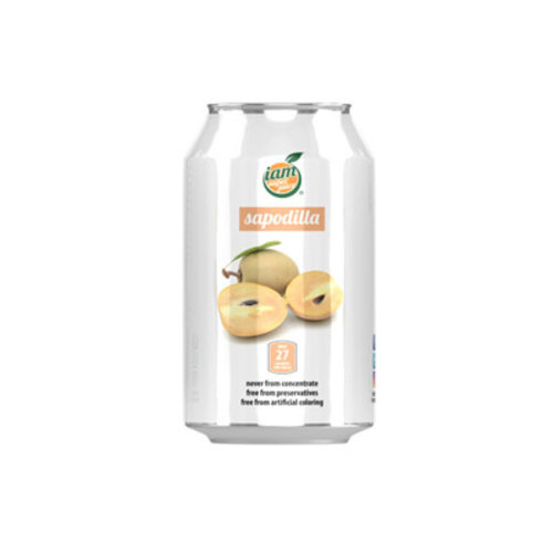 I Am Super Juice Sapodilla Juice, 330ml