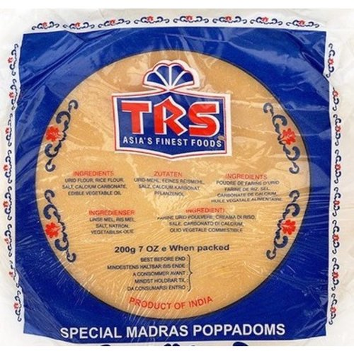 TRS TRS Madras Papads, 200g