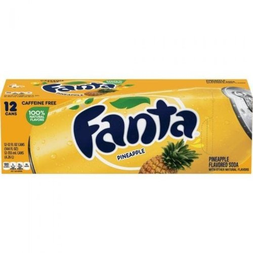 Fanta Pineapple Fridgepack, 12x355ml