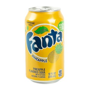 Fanta Pineapple, 355ml