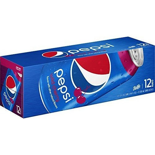 Pepsi Cherry Fridgepack, 12x355ml