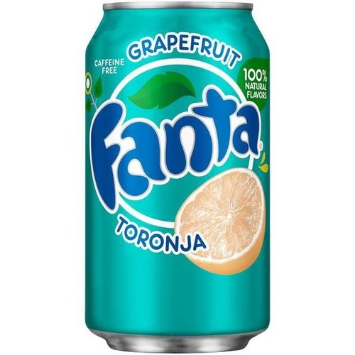 Fanta Grapefruit Toronja, 355ml