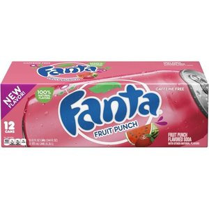 Fanta Fruit Punch Fridgepack, 12x355ml