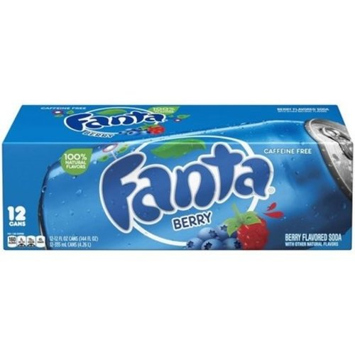 Fanta Blueberry Fridgepack, 12x355ml