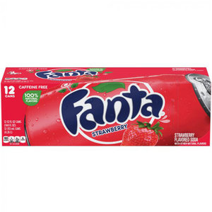 Fanta Strawberry Fridgepack, 12x355ml