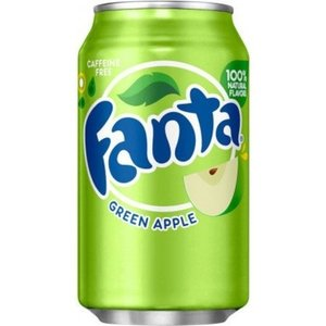 Fanta Green Apple, 355ml