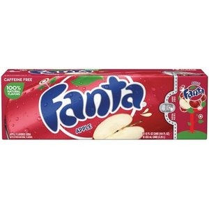 Fanta Apple Fridgepack, 12x335mml