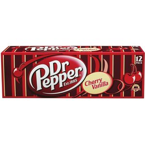 Dr. Pepper Dr. Pepper Cherry Vanilla Fridgepack, 12x355ml