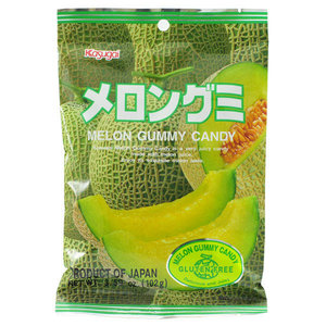 Kasugai Melon Gummy Candy, 102g