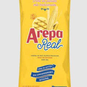 Maza Real White Corn Flour for Arepas, 1kg