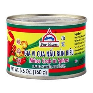 Por Kwan Minced Crab in Herbs, 160 g THT: AUG2021
