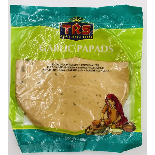 TRS Garlic Papads, 200g