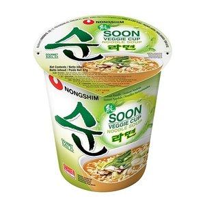 Nongshim Nongshim Soon Veggie Cup, 68g
