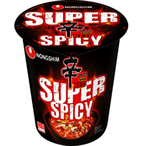 Nongshim Shin Red Super Spicy Cup, 68g