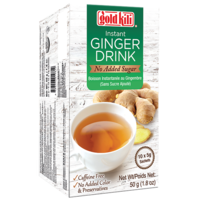 Instant Ginger Drink (No Sugar), 10x5g