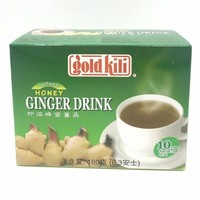 GoldKili Instant Honey Ginger Drink, 10x18g