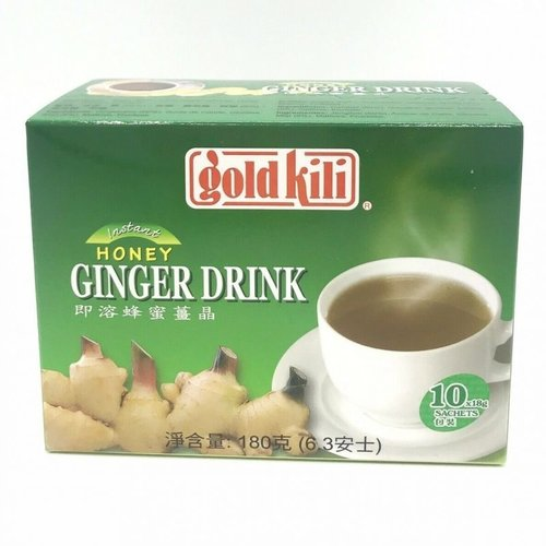 Goldkili GoldKili Instant Honey Ginger Drink, 10x18g
