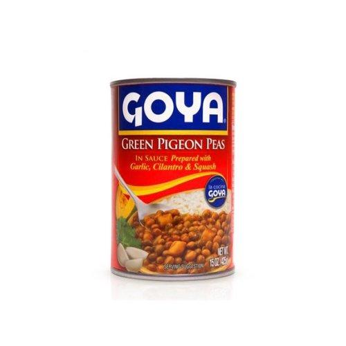 Goya Green Pigeon Peas In Sauce, 425g
