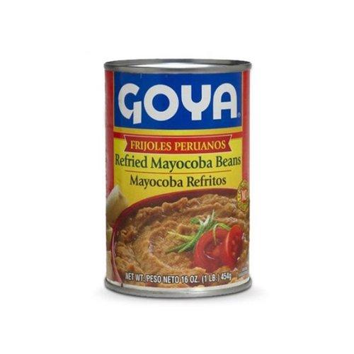 Goya Refried Pinto Beans (vegan), 454g