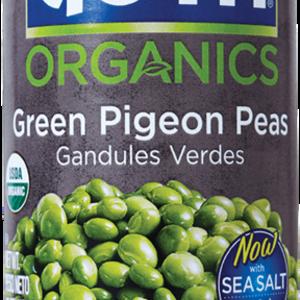 Goya Organic Green Pigeon Peas, 425g