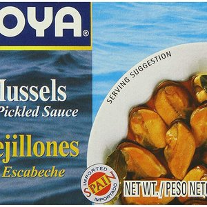 Goya Mussels In Pickled Sauce, 113g