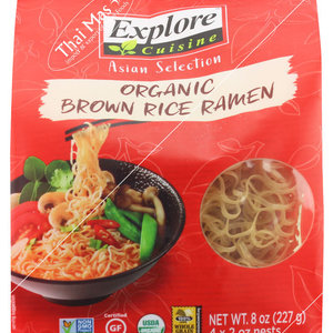Explore Cuisine Organic Brown Rice Ramen, 227