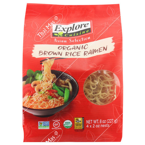 Explore Cuisine Organic Brown Rice Ramen, 227g