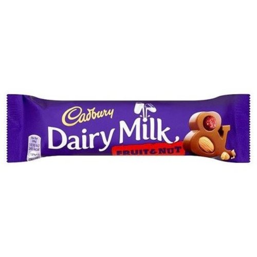 Cadbury Fruit & Nut Bar, 49g