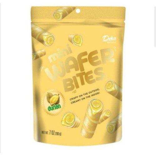 Deka Mini Wafer Bites Durian, 200g