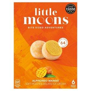 Little Moons Alphonso Mango Mochi, 6 stuks