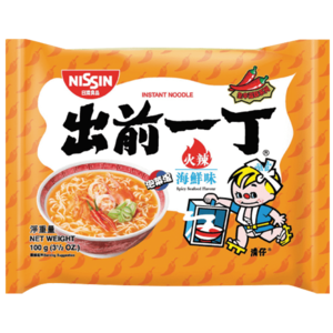 Nissin Nissin Spicy Seafood Flavour, 100g