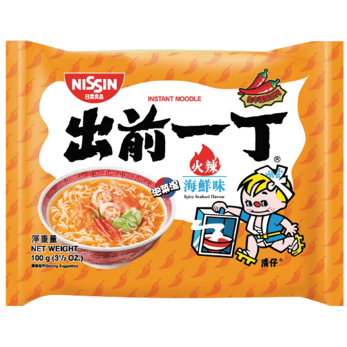 Nissin Nissin Spicy Seafood Flavor, 100g