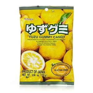 Kasugai Kasugai Yuzu Gummy, 102g