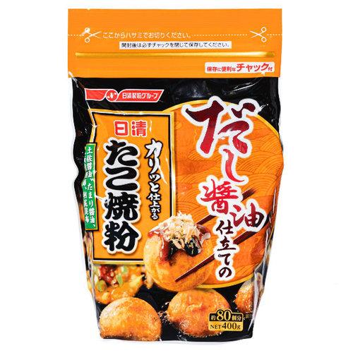 Nissin Foods Dashi-Shoyu Takoyaki Mix, 400g
