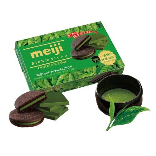 Meiji Rich Matcha Biscuit, 99g