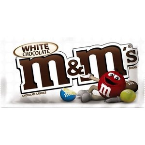 M&M White Chocolate Plain