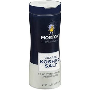 Morton Kosher Salt Canister, 453g