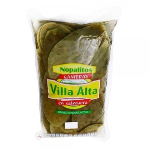 Villa Alta Whole Leaf Nopalitos Cambray, 1kg