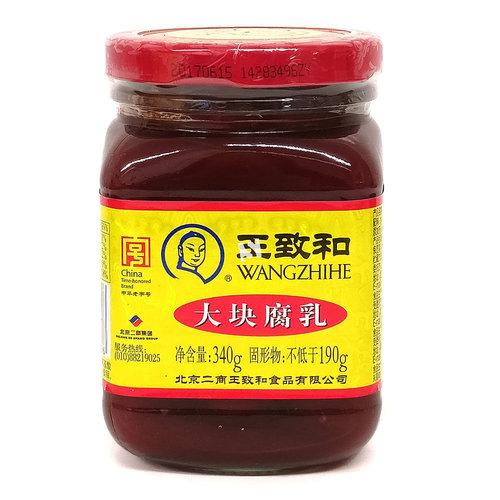 Wangzhihe Fermented Bean Curd, 340g
