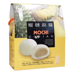 Loves Flower Durian Mochi, 300g