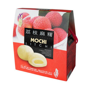 Loves Flower Litchi Mochi, 300g