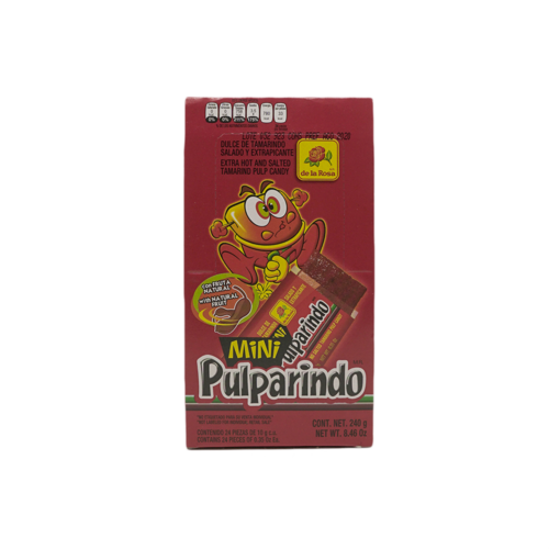 De la Rosa Mini Pulparindo Extra Hot, 240g
