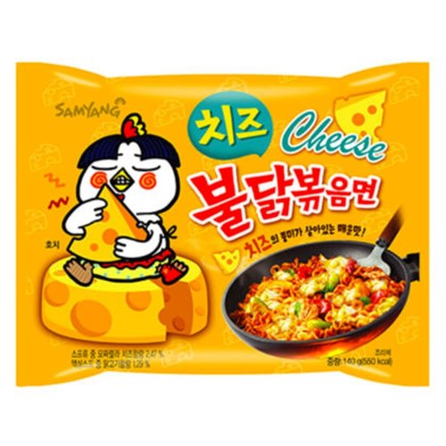 Samyang Hot Chicken Flavor Cheese Ramen, 140g