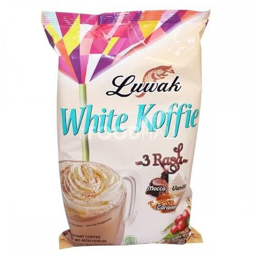 Luwak White Koffie 3 Flavors, 200g