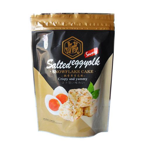 Salted Egg Yolk Snowflake Cake, 72g