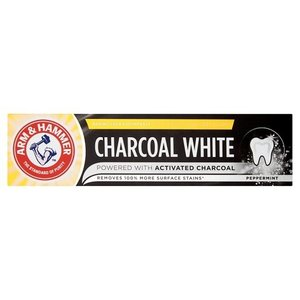 Charcoal White Tandpasta