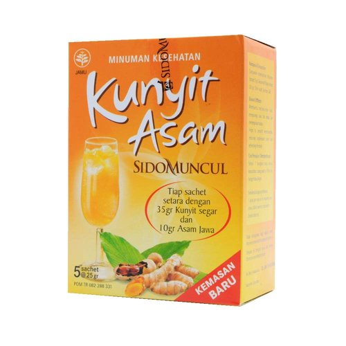 Sidomuncul Kunyit Assem, 5x25g